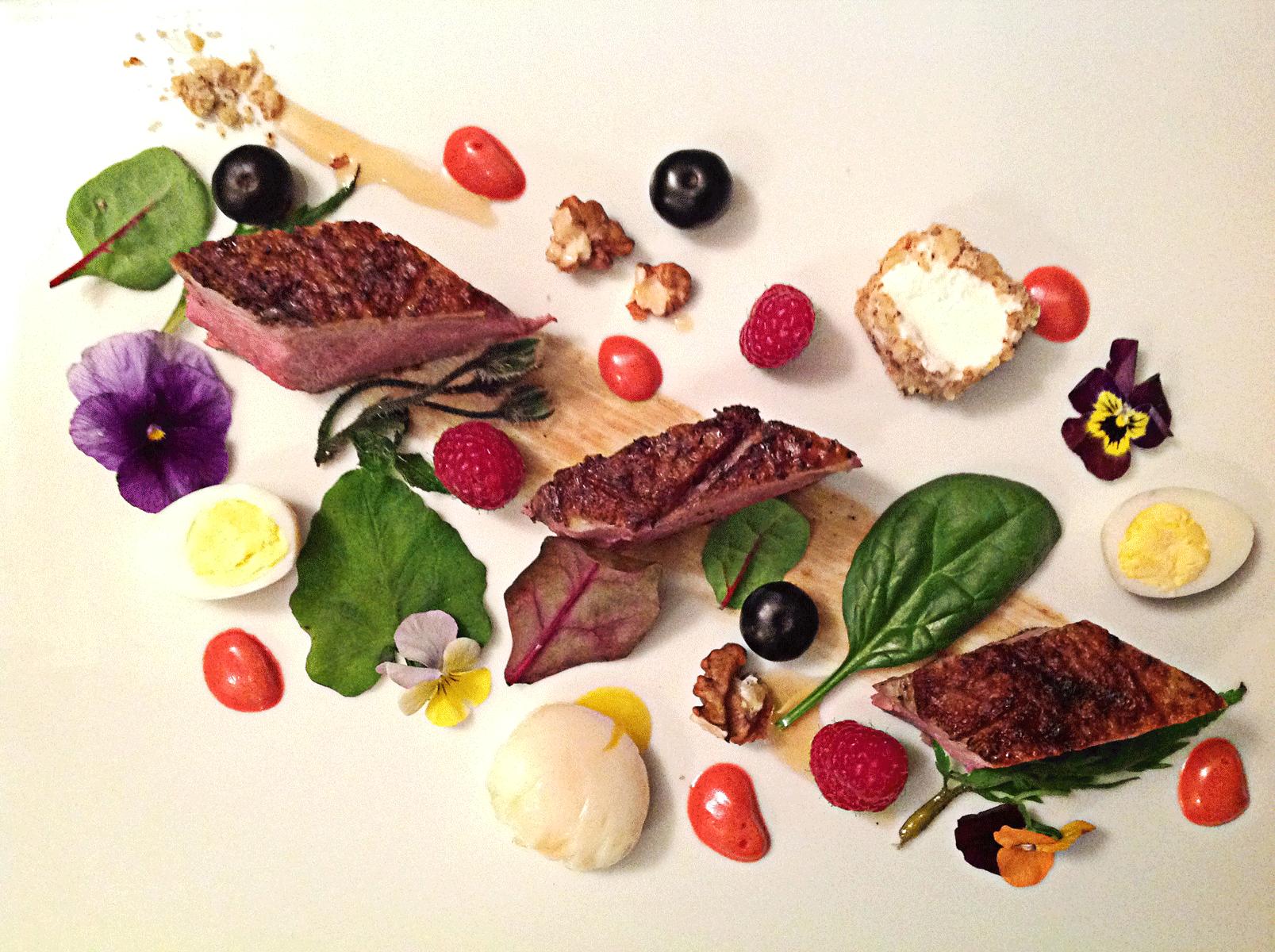 La macchia nel piatto – Insalata gourmet